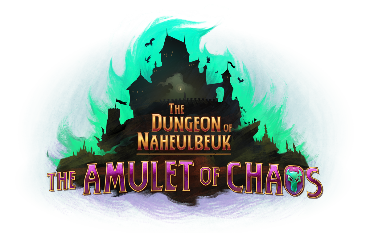 logo dungeon of naheulbeuk amulet of chaos